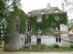 Château de la Faye - Français:   La façade nord du château de la Faye, Auriac-du-Périgord, Dordogne, France.