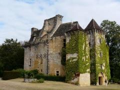 Château de la Faye - Français:   Le château de la Faye vu du sud-est, Auriac-du-Périgord, Dordogne, France.