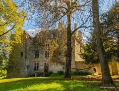 Château de la Faye - English:   vue de la façade Nord