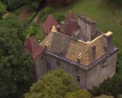 Château de la Faye - Français:   Vue aérienne côté Nord Ouest