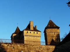 Château de Badefols-d'Ans - Français:   Château de Badefols-d\'Ans, Dordogne, France