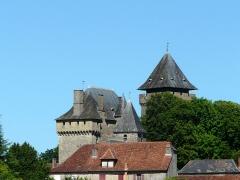 Château de Badefols-d'Ans - Français:   Le château de Badefols-d\'Ans, Dordogne, France