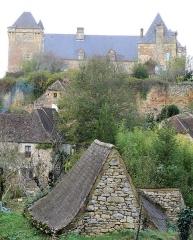 Château - Français:   Château de Berbiguières - Façade sud