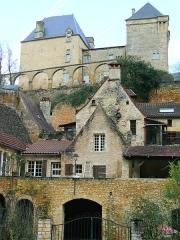 Château - Français:   Château de Berbiguières - Façade ouest