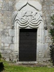 Presbytère - Français:   La porte du château (ancien presbytère), Bouniagues, Dordogne, France.