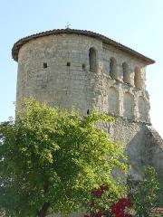 Eglise Saint-Pierre-ès-Liens de Bouteilles - English: church of Bouteilles, Dordogne, SW France