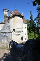 Castel de la Hierce - English:   Château de la Hierce in Brantôme