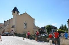Ancienne église Notre-Dame - English: Former church Notre-Dame in Brantôme