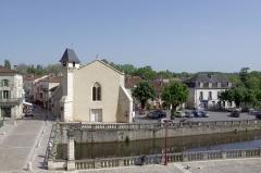 Ancienne église Notre-Dame - Français:   Brantôme - Restauration de l\'ancienne église Notre Dame qui deviendra en 2013 office de tourisme.