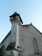 Ancienne église Notre-Dame - Français:   Le poste de guet de l\'ancienne église Notre-Dame, Brantôme, Dordogne, France