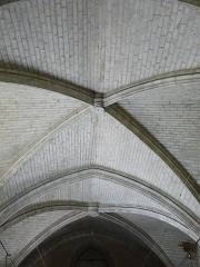 Ancienne église Notre-Dame - Français:   Le plafond de la nef de l\'ancienne église Notre-Dame, Brantôme, Dordogne, France