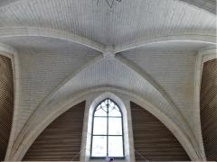 Ancienne église Notre-Dame - Français:   Plafond de l\'ancienne église Notre-Dame, Brantôme, Brantôme en Périgord, Dordogne, France.