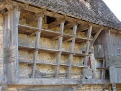 Four à pain dépendant de l'ancien presbytère d'Urval - Français:   Détail du four à pain d\'Urval, Dordogne, France.