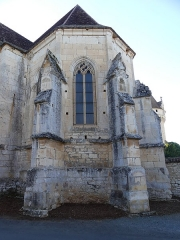 Eglise ou chapelle des Milandes - Français:   Le chevet de l\'église des Milandes, Castelnaud-la-Chapelle, Dordogne, France.