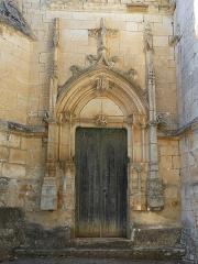 Eglise ou chapelle des Milandes - Français:   Le portail sud-est de l\'église des Milandes, Castelnaud-la-Chapelle, Dordogne, France.