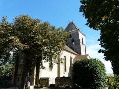 Eglise Notre-Dame de l'Assomption - Français:   L\'église Notre-Dame de l\'Assomption de Cause vue depuis le sud-ouest, Cause-de-Clérans, Dordogne, France.