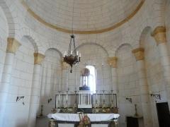 Eglise Notre-Dame de l'Assomption - Français:   Le chœur de l\'église Notre-Dame de l\'Assomption de Cause, Cause-de-Clérans, Dordogne, France.