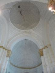 Eglise Notre-Dame de l'Assomption - Français:   La coupole et le cul-de-four de l\'abside, église Notre-Dame de l\'Assomption de Cause, Cause-de-Clérans, Dordogne, France.