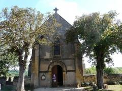 Eglise Notre-Dame de l'Assomption - Français:   La façade occidentale de l\'église Notre-Dame de l\'Assomption de Cause, Cause-de-Clérans, Dordogne, France.