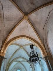 Eglise Notre-Dame de l'Assomption - Français:   Le plafond de l\'église Notre-Dame de l\'Assomption de Cause, Cause-de-Clérans, Dordogne, France.