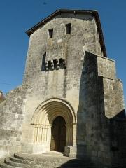 Eglise Saint-Martin de Champagne - English: church of Champagne, Champagne-et-Fontaine, Dordogne, SW France