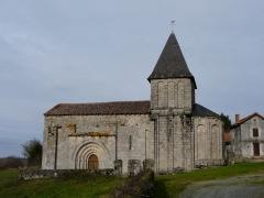 Eglise Saint-Paul de Reilhac - Français:   Le côté sud de l\'église Saint-Paul de Reilhac, Champniers-et-Reilhac, Dordogne, France.