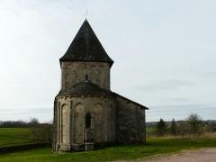 Eglise Saint-Paul de Reilhac - Français:   Le chevet de l\'église Saint-Paul de Reilhac, Champniers-et-Reilhac, Dordogne, France.