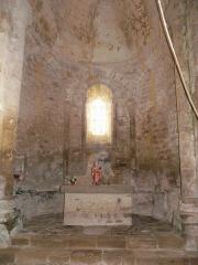 Eglise Saint-Paul de Reilhac - Français:   Le chœur de l\'église Saint-Paul de Reilhac, Champniers-et-Reilhac, Dordogne, France.