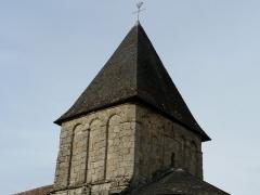 Eglise Saint-Paul de Reilhac - Français:   Le clocher de l\'église Saint-Paul de Reilhac, Champniers-et-Reilhac, Dordogne, France.