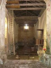 Eglise Saint-Paul de Reilhac - Français:   La nef de l\'église Saint-Paul de Reilhac, Champniers-et-Reilhac, Dortdogne, France.