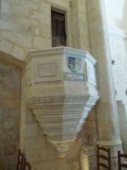 Eglise Saint-Pierre-et-Saint-Paul - English: Pulpit