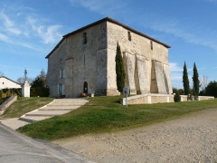 Eglise Saint-Jean-Baptiste de Comberanche - Français:   église de Comberanche, Dordogne, France