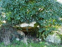 Dolmen d'Eylias - Français:   L\'entrée du dolmen d\'Eylias, Eymet, Dordogne, France.