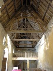 Eglise Saint-Martin de Sireuil - Français:   Église Saint-Pierre de Sireuil - La nef vue du choeur