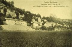 Gisement préhistorique de Laugerie-Haute - Français:   Fouilles O. Hauser. Laugerie Haute. 1911