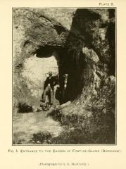 Grotte de Font-de-Gaume (grotte du Sourd) - Español: Grotte de Font-de-Gaume. Entrada de la cueva.
