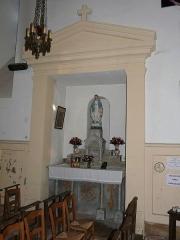Eglise de la Décollation de Saint-Jean-Baptiste - Français:   La chapelle latérale nord de l\'église de Fanlac, Dordogne, France.