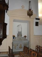Eglise de la Décollation de Saint-Jean-Baptiste - Français:   La chapelle latérale sud de l\'église de Fanlac, Dordogne, France.