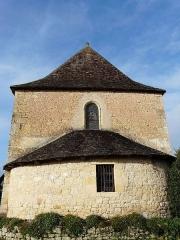 Eglise de la Décollation de Saint-Jean-Baptiste - Français:   de l\'église de Fanlac, Dordogne, France.