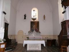 Eglise de la Décollation de Saint-Jean-Baptiste - Français:   Le chœur de l\'église de Fanlac, Dordogne, France.