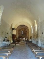 Eglise - English:   church of Les Graulges, Dordogne, SW France
