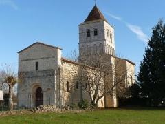 Eglise de la Chapelle-Saint-Robert - Français:   église de la Chapelle-St-Robert; Dordogne, France