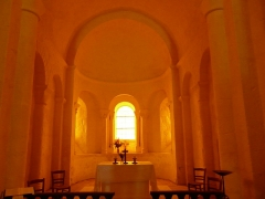 Eglise de la Chapelle-Saint-Robert - Français:   Le chœur de l\'église Saint-Robert, Javerlhac-et-la-Chapelle-Saint-Robert, Dordogne, France.