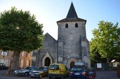 Eglise de Javerlhac - English: Church in Javerlhac