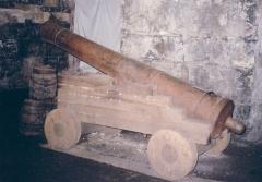 Forge Neuve -  Canon début 19e siècle (?) à Forge-Neuve, Javerlhac