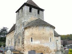 Eglise Saint-Martin - Français:   Limeuil - Eglise Saint-Martin - Chevet