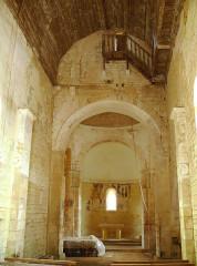 Eglise Saint-Martin - Français:   Limeuil - Eglise Saint-Martin - Nef