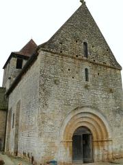Eglise Saint-Martin - Français:   Limeuil - Eglise Saint-Martin - Façade occidentale et portail