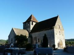 Eglise Saint-Martin - Français:   L\'église Saint-Martin vue du nord-ouest, Limeuil, Dordogne, France.