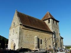 Eglise Saint-Martin - Français:   L\'église Saint-Martin vue du sud-ouest, Limeuil, Dordogne, France.